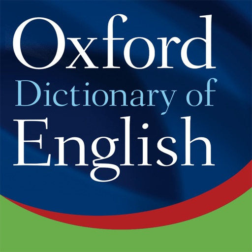 Oxford Dictionary of English iOS App