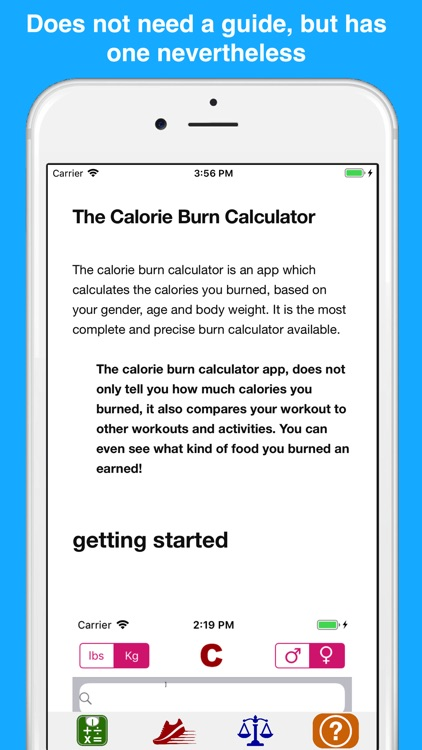 Calorie burn calculator screenshot-3
