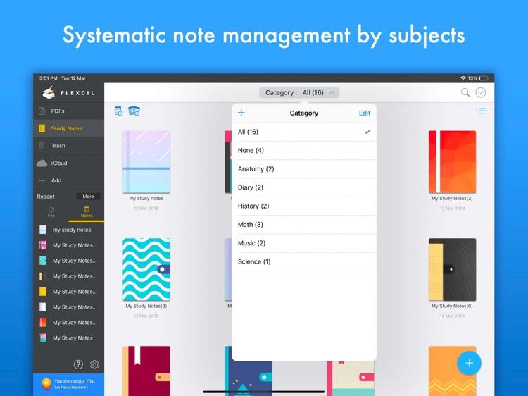 Flexcil - PDF, Annotate, Note screenshot-6