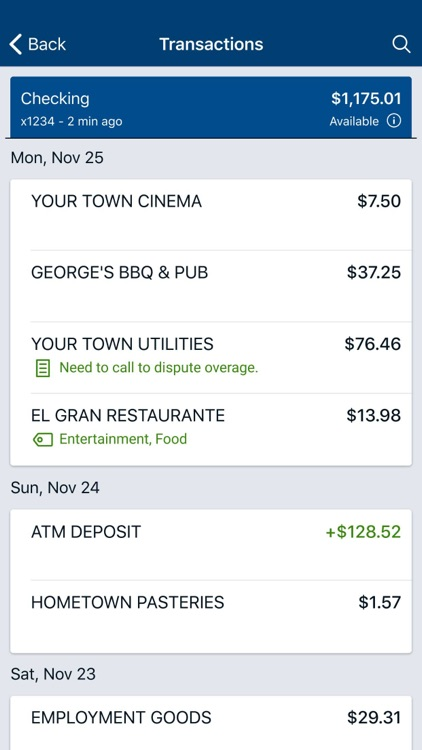 Newtown Savings Bank Mobile screenshot-7