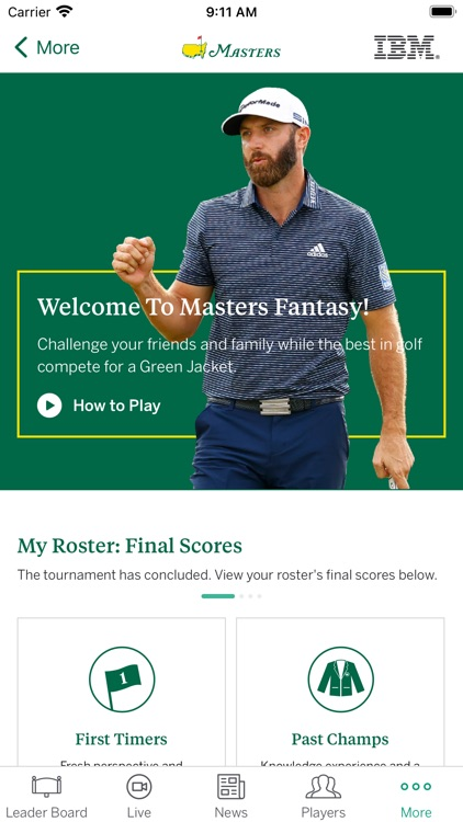The Masters Tournament screenshot-8