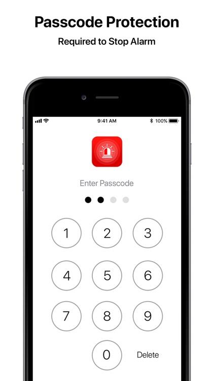 Security Alarm - AntiTheft Pro screenshot-8