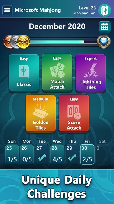 Mahjong by Microsoft screenshot 3