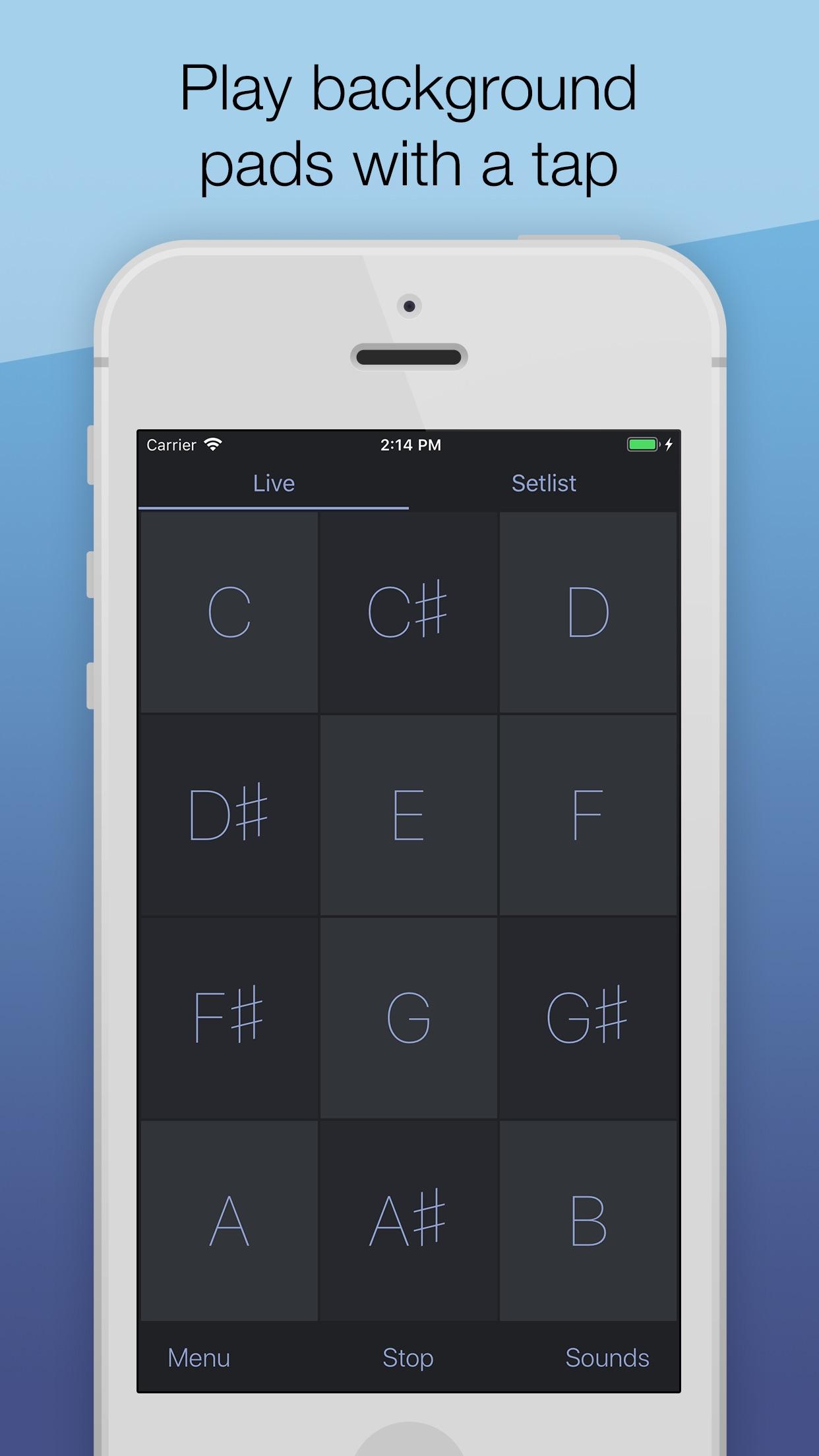 AutoPad — Ambient Pad Loops Screenshot