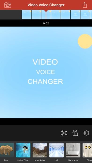Screenshot #7 for Video Voice Changer-Fun Editor