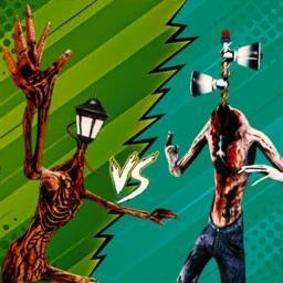 Siren Head Vs Light Head Game