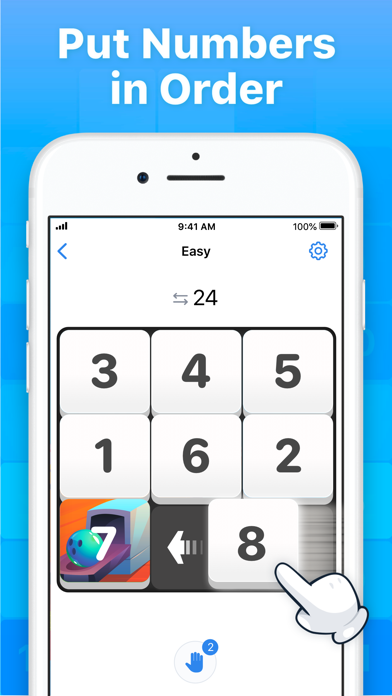 Slide Puzzle - Number Game screenshot 1