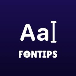 Fontips: Font & Emoji Keyboard