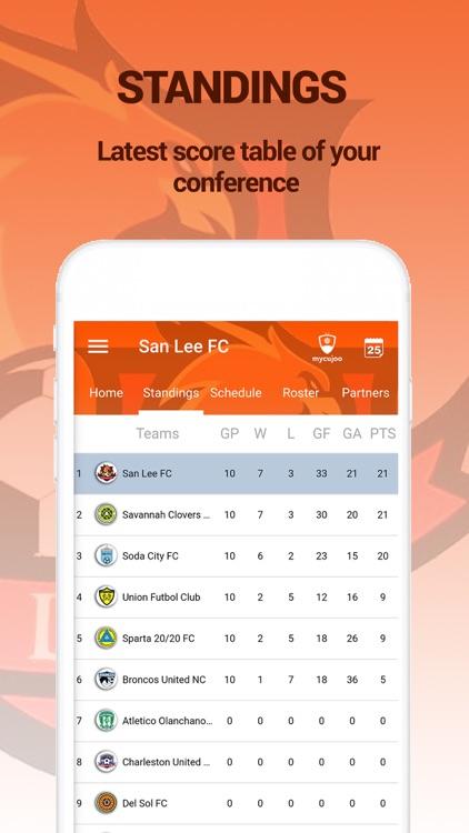 San Lee FC Official screenshot-3