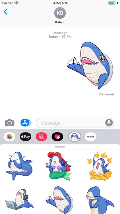 Dolphin Stickers Pack screenshot-4