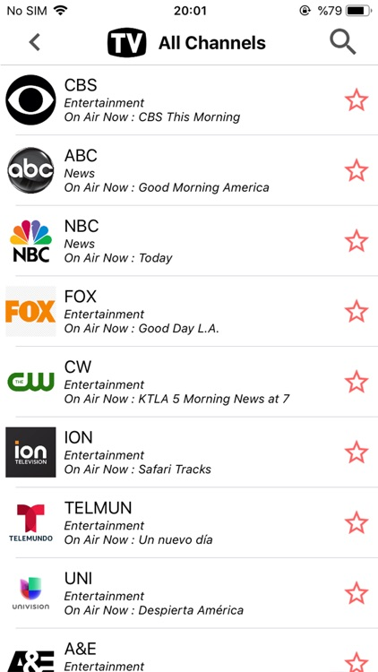 USA TV Schedule Guide