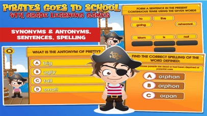 Pirate School: Fourth Grade screenshot three
