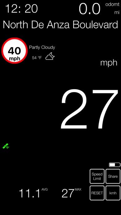 速度計mph kmh gpsベースのおすすめ画像7