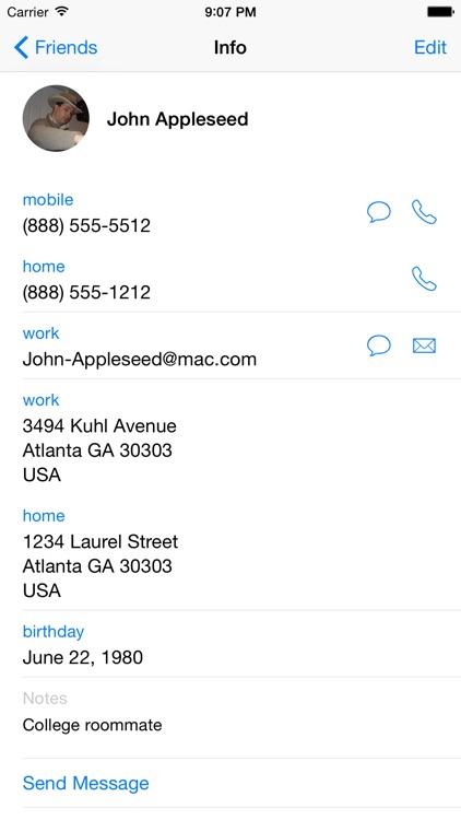 Address Book Plus screenshot-4