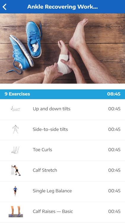 Ankle Exercises screenshot-3