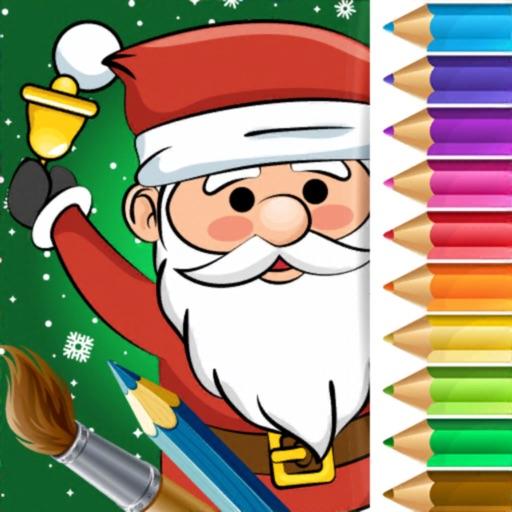 Christmas Color Book Pixie Art