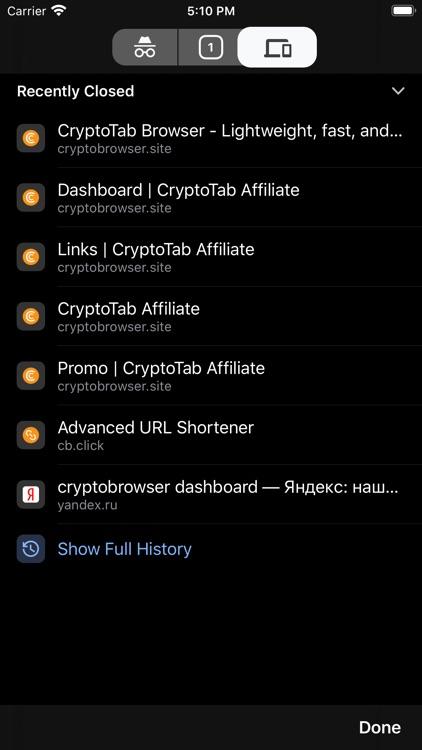 CryptoTab Browser Pro screenshot-4