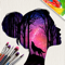 App Icon for Silhouette Art App in United States IOS App Store