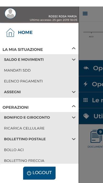 Screenshot for Cassa Sovvenzioni e Risparmio in Denmark App Store