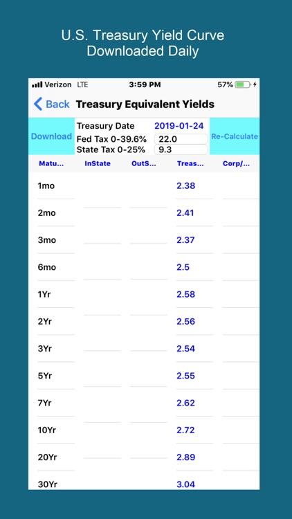 Bond Yield Calculator screenshot-3