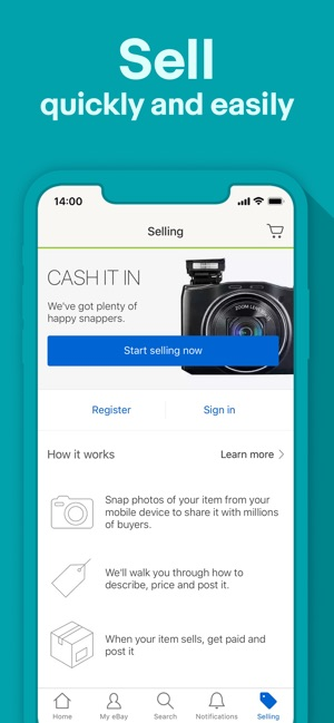 cc0b75b8dfc Buy, Sell and Save - eBay on the App Store