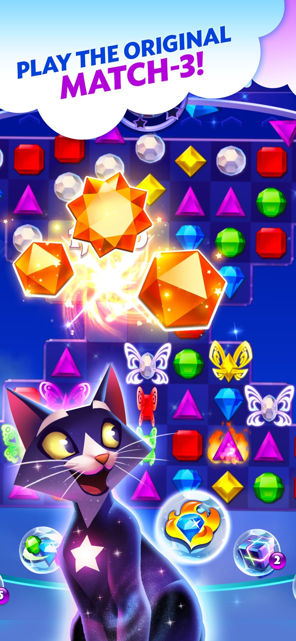 Bejeweled Stars Cheat Codes