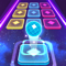 App Icon for Color Hop 3D - Music Ball Game App in United States IOS App Store