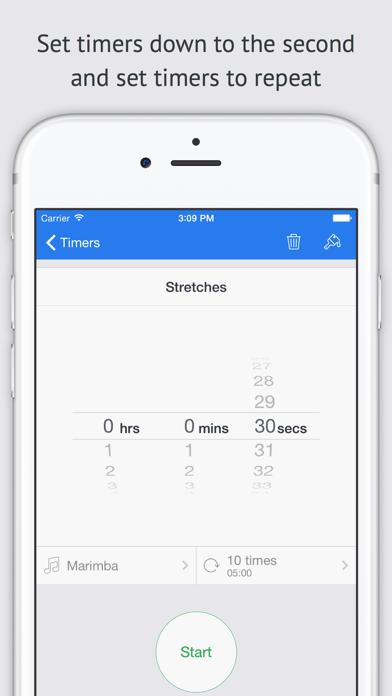 Timer+ screenshot four