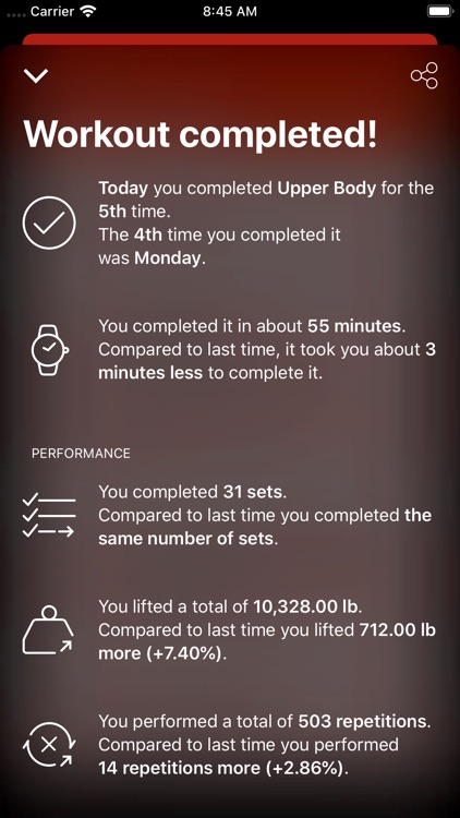 GymBook - Strength training screenshot-7