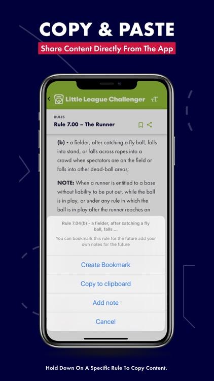 Little League Rulebook screenshot-7