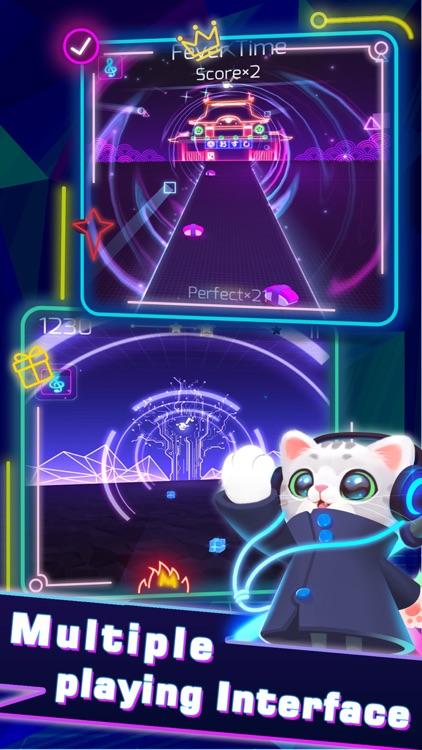 Sonic Cat-Slash the Beats