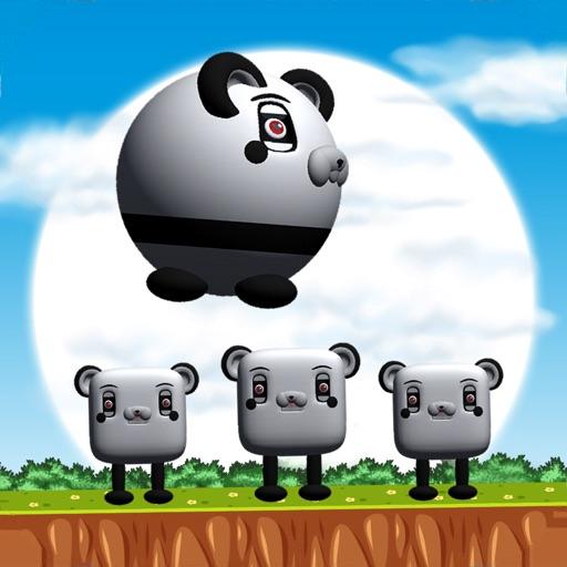 Funny Panda Jumping icon