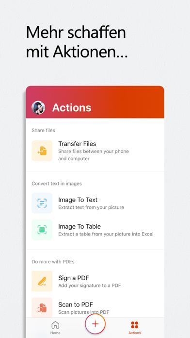 Microsoft OfficeScreenshot von 6