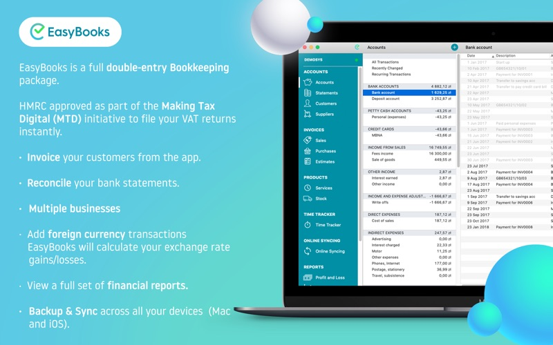 Easy Books Screenshot