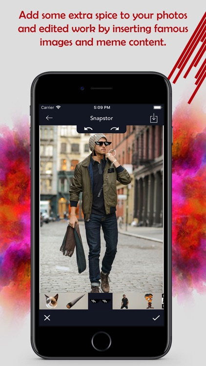 Snapstor - Best Photo Editor screenshot-9