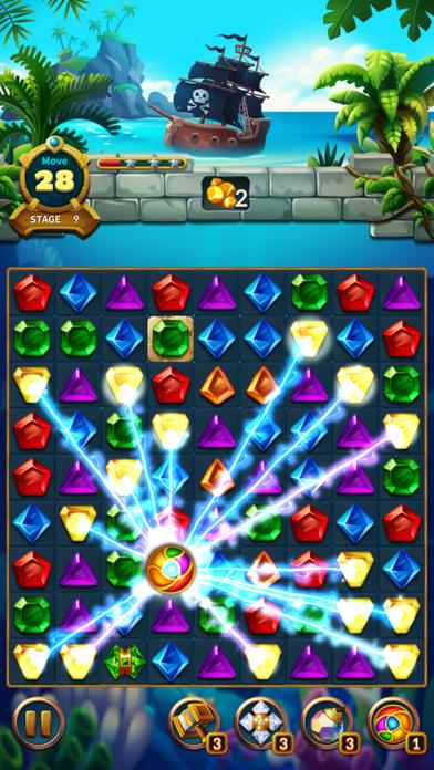 Jewels Fantasy Legend - Match3Captura de pantalla de7