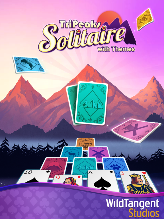TriPeaks Solitaire with Themes screenshot 10