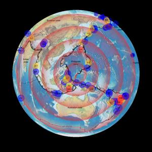 Earthquake Finder app