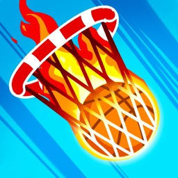 On fire : basketball shots