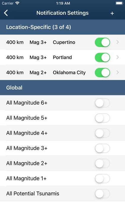 Earthquake Monitor screenshot-4