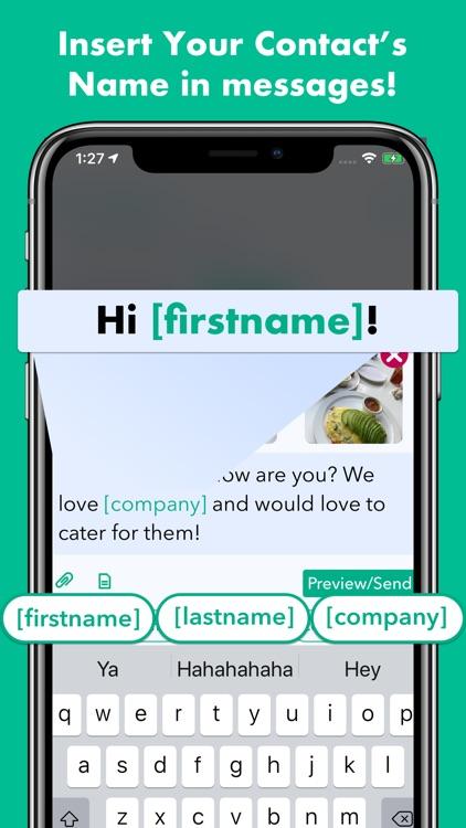 Hit Em Up Mass Text   Bulk SMS screenshot-3