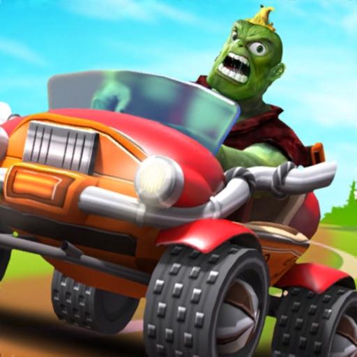 Street Monster Kart Race Rush