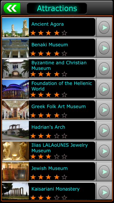 Athens Offline Travel screenshot three