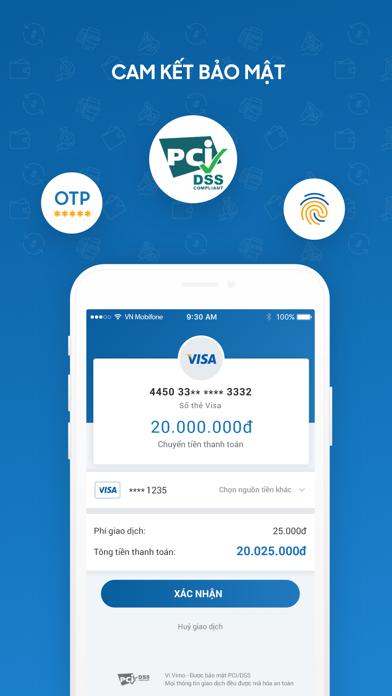 VIMO ví điện tử chuyển tiền screenshot three