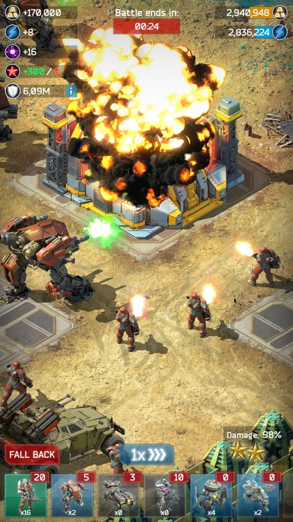 Battle for the Galaxy War Game screenshot-4