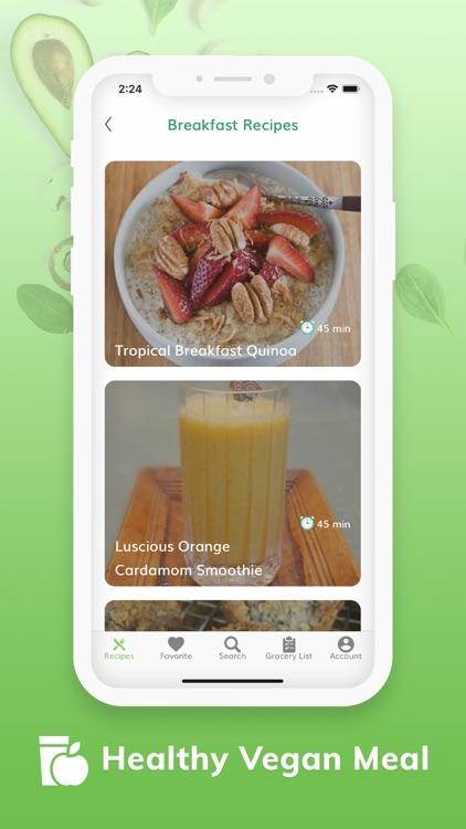 Vegan Recipes - Plant Based screenshot-3