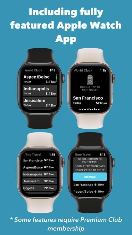 World Clock Time Widget screenshot-8