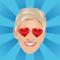 App Icon for Ellen's Emoji Exploji App in United States IOS App Store