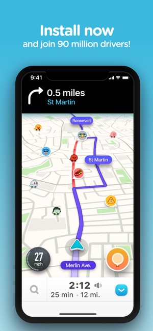 Waze Navigation Live Traffic On The App Store