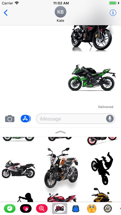 Motorcycle Stickers app image
